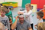 Z interaktivního kurzu 'Malý záchranář' v Mateřské škole MiniSvět v Mrači.