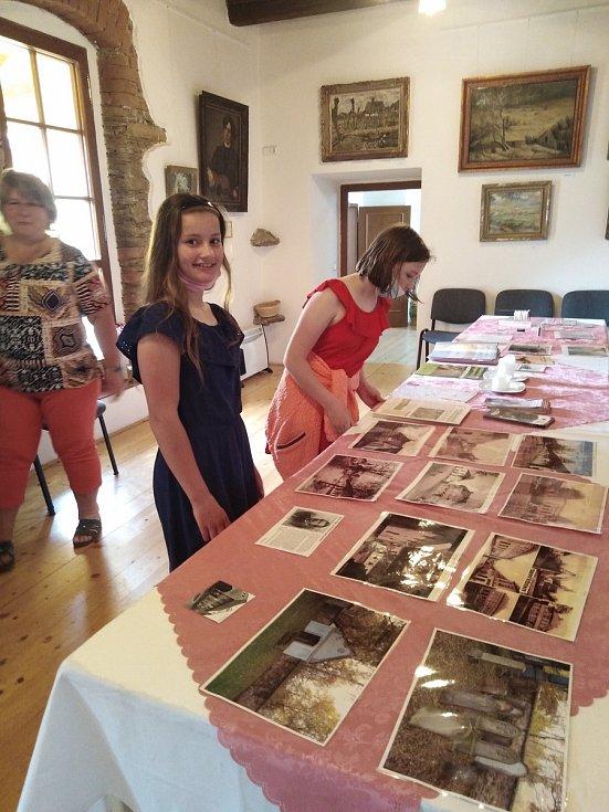 Pohádkové putování žáků základní školy Trhový Štěpánov v Muzeu Štěpánovska.