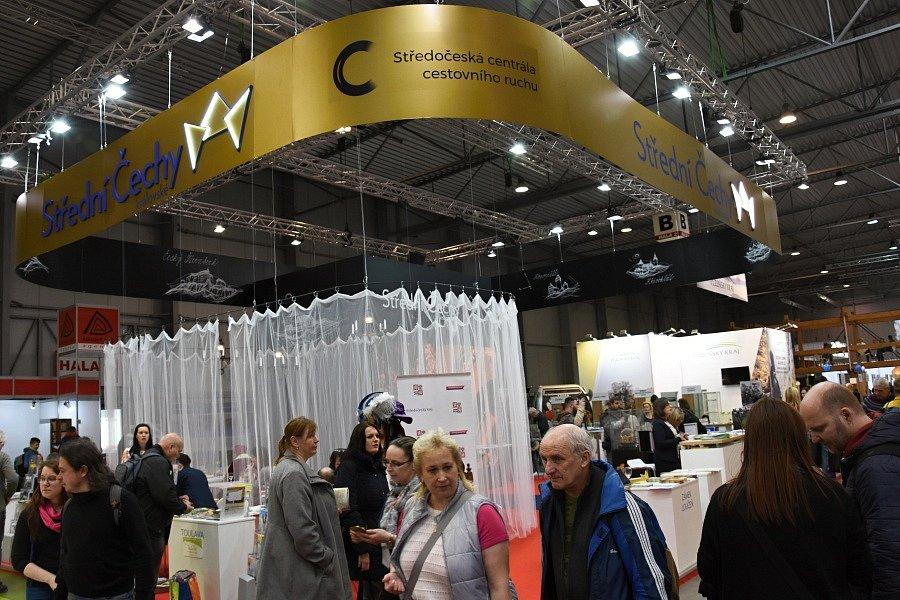 Středočeský kraj měl na veletrhu cestovního ruchu Holiday World silné zastoupení.