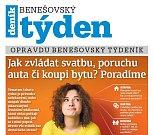 Titulní strana třicátého čtvrtého čísla týdeníku Benešovský týden.