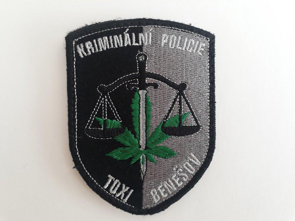 Nášivka Toxi týmu Policie ČR Benešov.