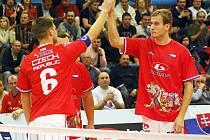 Naposledy se Jiří Doubrava (vpravo) představil na mistrovství světa před čtyřmi lety a bylo z toho stříbro. Sen o světovém titulu si ale letos nesplní.