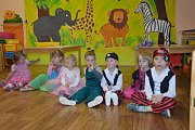 Ve školce pod Blaníkem vítaly děti jaro.