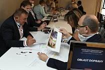 Ze sedmého setkání starostů s vedením Středočeského kraje, které se konalo 15. září 2020 v Praze.