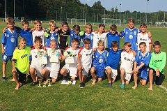 Vlašimské týmy skončily na domácím turnaji na sedmém a osmém místě.