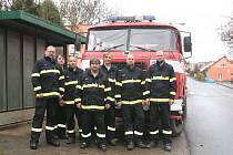 Jednotka Sboru dobrovolných hasičů Chrustenice.