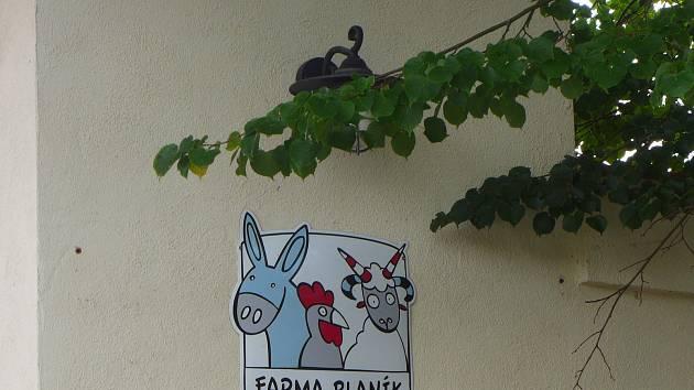 Farma-park Blaník v Ostrově.