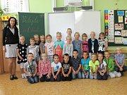 ZŠ Benešov, Jiráskova 888, 1. A třídní učitelka Marcela Blažková