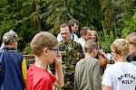 Army test na Konopišti.