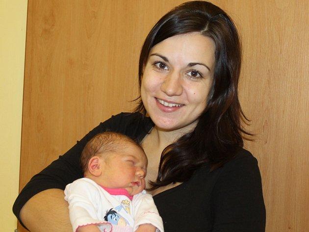 Natálie Špidrová s mámou Janou, Soběhrdy