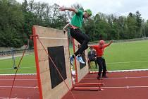 Na vlašimském stadionu Na lukách se konala v sobotu 20. května okrsková soutěž.