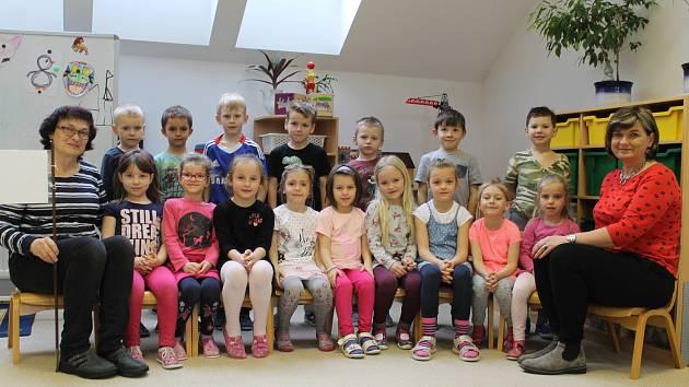 Mateřská škola ve Voticích. Bílá třída, Jana Kocurová, Ilona Horáková.