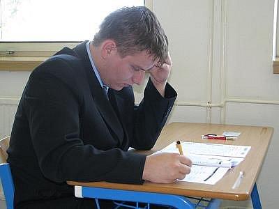 Státní písemné maturity z anglického jazyka na ISŠT Benešov.