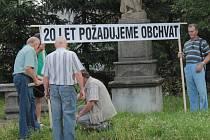 Před 3 lety se v Olbramovicích odehrála blokáda mezinárodního tahu E55.