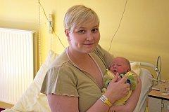 Karolína Spurná a Jan Spurný zVlašimi jsou od 21. dubna šťastnými rodiči své prvorozené dcerky Karolínky. Ta se narodila vranních hodinách v8:22 sváhou 2440 g.