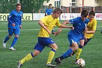 Sedmnáctka Benešova prohrála na Vyšehradě gólem v závěru zápasu.