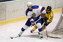 Přípravný hokejový zápas Benešov - Kobra Praha