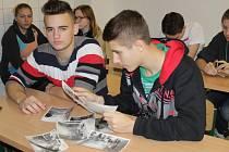 Projektový den v SOŠ Benešov na téma 25 let svobody.