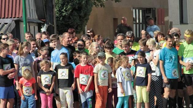 Na start 2. ročníku Šustova běhu se postavilo 94 běžců.