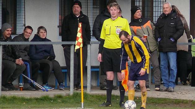 Mezi nejlepšími fanoušky na okresních fotbalových stadionech byli rozhodčími také jmenováni ti Nespečtí.