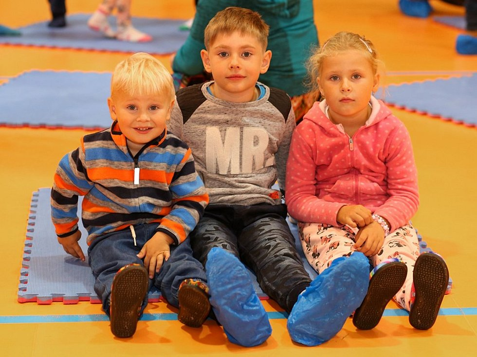 Děti se v Sázavě rozloučily s létem tancohrátkami s Culinkou.