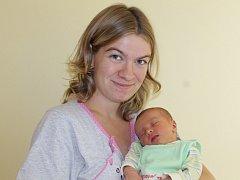 Malá Terezka Velebilová je dalším miminkem, které bude po ukončení měsíčních kol usilovat o titul Nejsympatičtější miminko roku 2016.