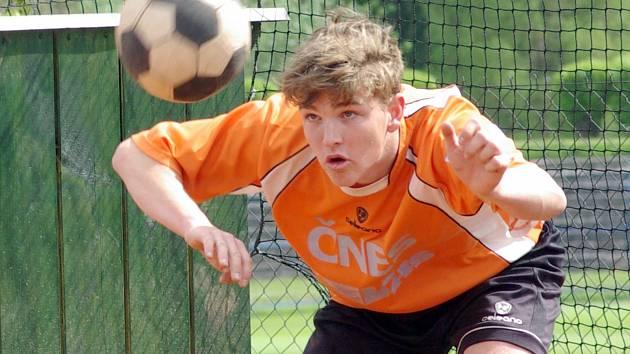 V extraligovém utkání s Žatcem zažil vítěznou premiéru dorostenec Šacungu Adam Fürbacher.