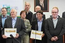 Mezi oceněnými v soutěži Zlatý erb 2012 byl i Benešov.