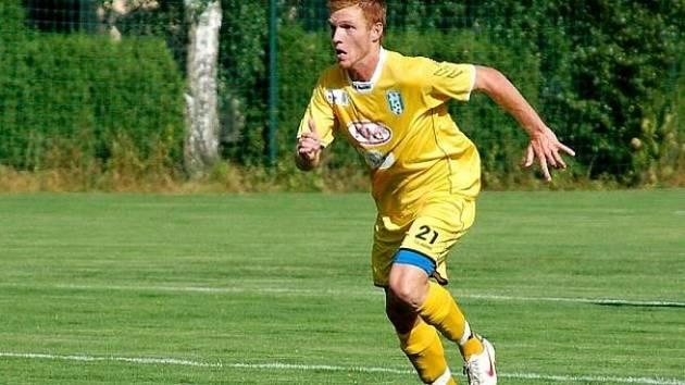 Martin Schuster v dresu Vlašimi, kde dohromady strávil tři a půl sezony.
