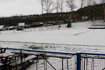 Dorostenci Votic nemohli zápas s Berounem odehrát, protože na hlavním hřišti byl sníh a na škváře marast
