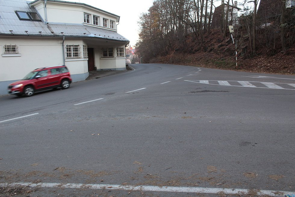 V Podělusech začne Týnec nad Sázavou stavět chodník na přelomu března a dubna roku 2021.