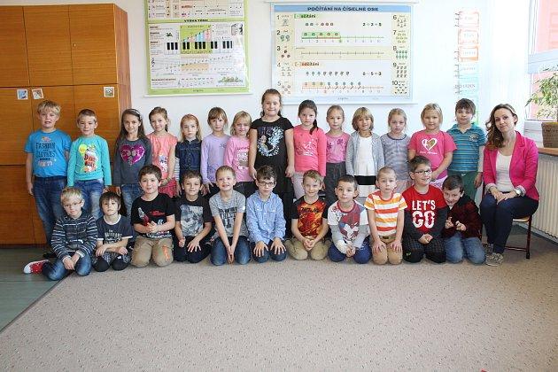 ZŠ a MŠ Chocerady a třídní učitelka Martina Bílková