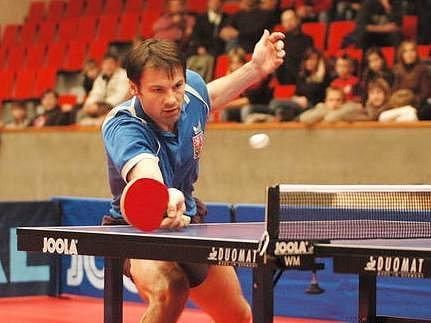 Ilustrační foto: Marek Klásek je současný český stolní tenista a člen české reprezentace