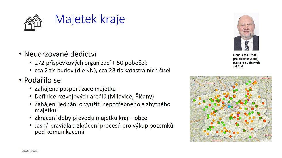 Z online tiskové konference středočeských radních k bilancování prvních 100 dnů vlády (přesněji: 114 dnů) nové koalice STAN, ODS, Pirátů a Spojenců.