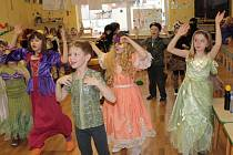 Karneval ve školní družině ZŠ Jiráskova.