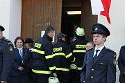 V Heřmaničkách křtili nové hasičské auto.