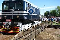 Benešovské železniční depo na 1. máje.