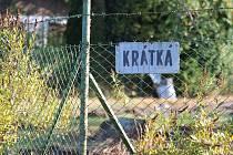 Stav označení ulic v osadě Nové Městečko u Čerčan v úterý 6. září dopoledne.