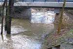 Velká voda na Podblanicku a v Posázaví.