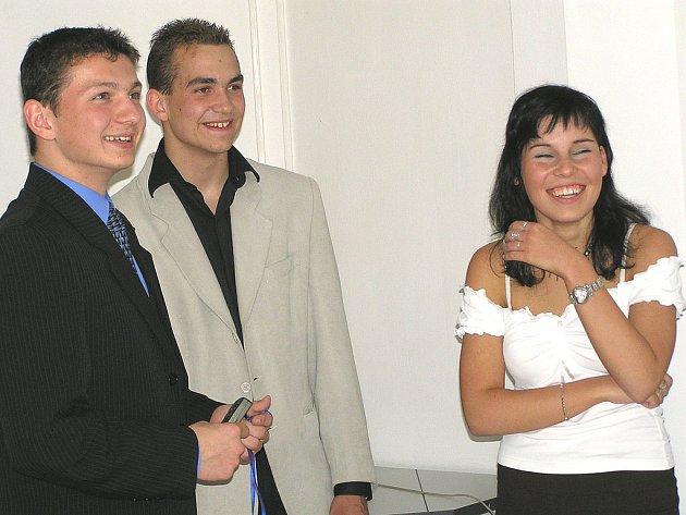 Studenti z Vlašimi.
