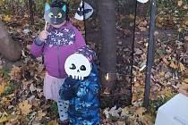 Halloween - lampionová stezka odvahy v Načeradci.