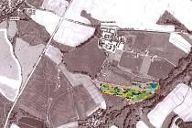 Devítijamkové golfové hřiště hodlají vybudovat severovýchodně od Olbramovic.