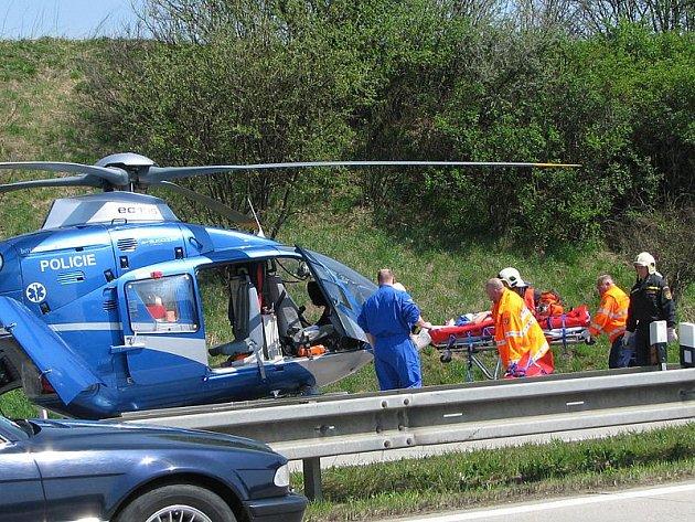 Páteční nehoda na D1.