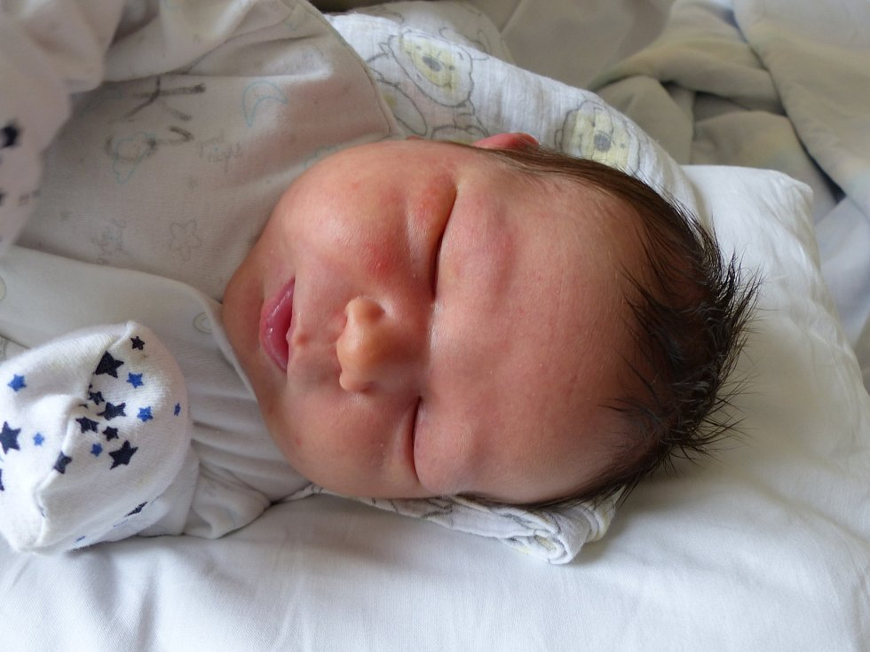 Vojtěch Hlávka se narodil 26. dubna 2021 v kolínské porodnici, vážil 4365 g a měřil 53 cm. V Býchorech ho přivítal bráška Patrik (2.5) a rodiče Petra a Martin.