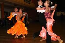 Taneční soutěž mládeže.