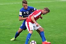 Fotbalová příprava Vlašim - FAČR (hráči bez angažmá) 1:1.