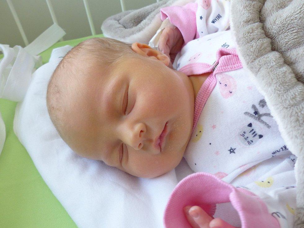 Amálie Vokounová se narodila 23. února 2021 v kolínské porodnici, vážila 3150 g a měřila 50 cm. Do Svojšic odjela s maminkou Kristýnou a tatínkem Petrem.