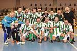 Stará garda Bohemians 1905, vítězové vánočního turnaje internacionálů 2015.