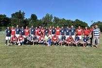 Oslavy stého výročí TJ Sokol Postupice pokračovaly fotbalovými zápasy.