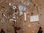 Z vernisáží tří výstav v Muzeu umění a designu v Benešově
